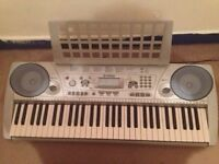 Yamaha Electric Keyboard with charger and earphones