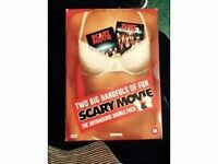 TWO BIG HANDFULS OF FUN SCARY MOVIE THE OUTRAGEOUS DOUBLE PACK 1& 2 18