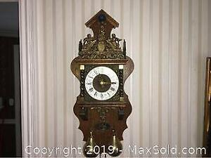 Reproduction Antique Wall Clock