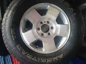 Various like new truck tires