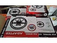 Job lot of 35 brand new boxed ps3 wheel adapters