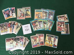 Vintage Hockey Cards 70s and 80s A