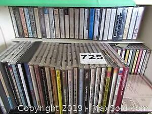 Collection Of Cassettes And CDs A