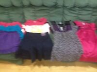 Girls Skirts & Dressy Tops Size 12 Lot EE