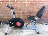 Recumbent exercise bike WITH lcd display Can deliver