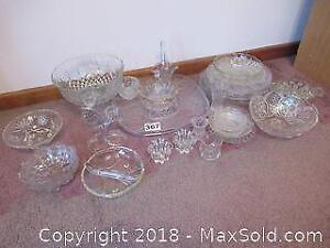 Glass/ Crystal Dishes A