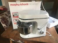 Morphy Richards Accents 400010 Stand Mixer, immaculate as new in box
