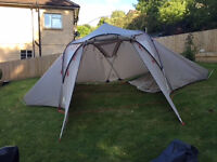 Vaude Badawi 4P Tent, excellent condition, hardly used. Includes optional groundsheet.