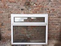 UPVC Double Glazed Window with top opener and slotvent