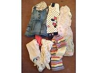 Bundle of girls clothes 9-12 months