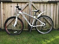 Specialized Hardrock Sport white with red and black accents
