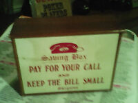 Old school money phone box make your kids pay for your calls 8
