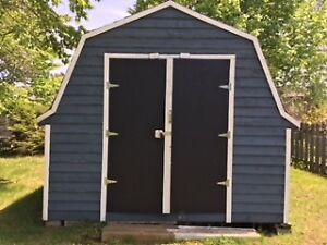 OUTDOOR SHED 10 x 12