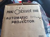 Prinz Cabaret 2000 Auto Projector and 8mm Movie Editor