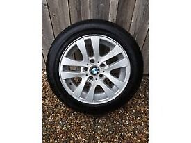 BMW alloy wheels with tyres (2 of)