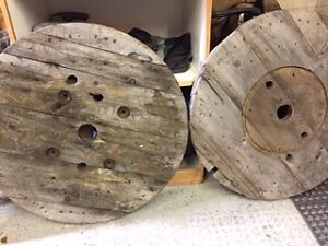 Wooden Spools Kawartha Lakes Peterborough Area image 1