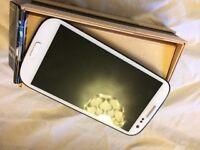 Samsung white S4