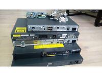 Cisco 1841,2801,3750,PIX 515e,2xASA 5520,Aironet 1142N,StacCable,WIC ADSL, WIC SHDSL