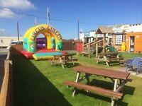 Millers Cottage in Towyn and dates are available in our 2 bedroomed caravan.