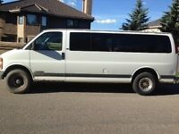 2002 Chevy Express 3500 LS Extended van