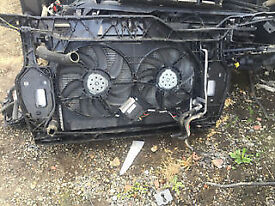 audi q5 front slam panel and rad pack complete 3.0 tdi auto call parts thanks