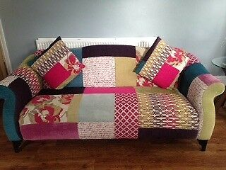 3 Seater Dfs Shout Range Patchwork Sofa 2 Seater Dfs Shout Range