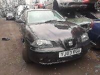 seat Ibiza Se Sport 1.4 Petrol 2003 black *BREAKING*