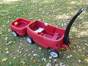 Step Two Red Wagon