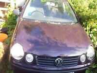polo 1.4tdi bonnet BREAKING FOR PARTS