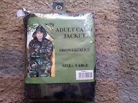 Showerproof Camo Jacket