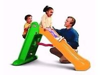 Little Tikes Easy Store Large Slide Green/Orange