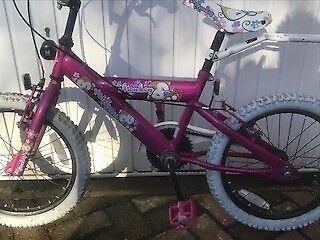 Lovely Little Monkey Girls Bike for sale