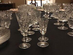 Fine Crystal Set made in Edinburgh Scotland