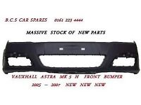 VAUXHALL ASTRA MK 5 FRONT BUMPER NEW 2005 2006 NEW
