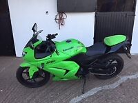 Kawasaki Ninja EX250R. 250cc Sports Bike Excellent condition. 2010. Full Year MOT.Wont need anything