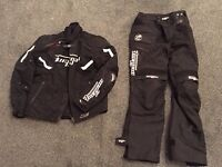 Furygan Motorcycle Textile Jacket (Titan) and Jeans (Duke) - both waterproof