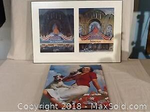Styx Paradise Theatre And Coke Art Prints