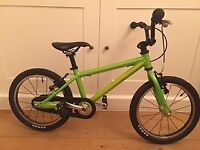 Isla Bike Cnoc 16. Looks new. Son needs next size up. He rode this on his 4th birthday.
