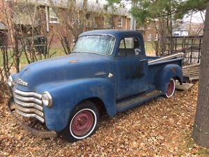 BARN FIND! 1954 Chev Pickup 3100