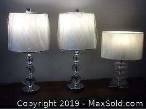 Beautiful Accent Lamps.