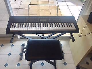Casio CTK 3200 keyboard stand and seat