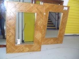 Brand New Solid Teak Mirror