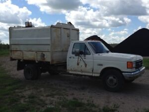 Ford F350 Side load Refuse Truck