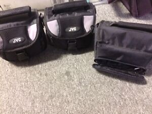 ASSORTED CAMERA AND CAMCORDER CASES