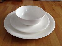 Denby fine bone china crockery (3 piece set)