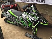 "2018 Arctic Cat NEW ZR 8000 137"" ES (DEMO) BLOWOUT SALE! Kitchener / Waterloo Kitchener Area Preview"