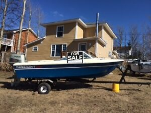 For sale Boat Motor and Trailer