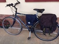 Raleigh Pioneer Jaguar for sale. Good condition comes with saddle bags and waterproof trousers