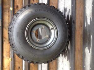4  ATV Tires and Rims