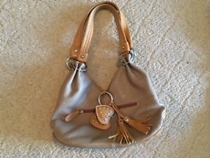 Brown purse from Italy